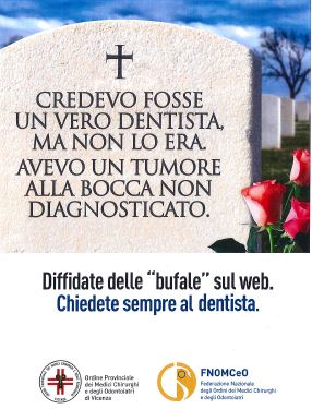 Campagna FNOMCeO - credevo fosse un vero dentista